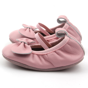 Hot Selling Baby Leather Pink Dress Shoes Kids