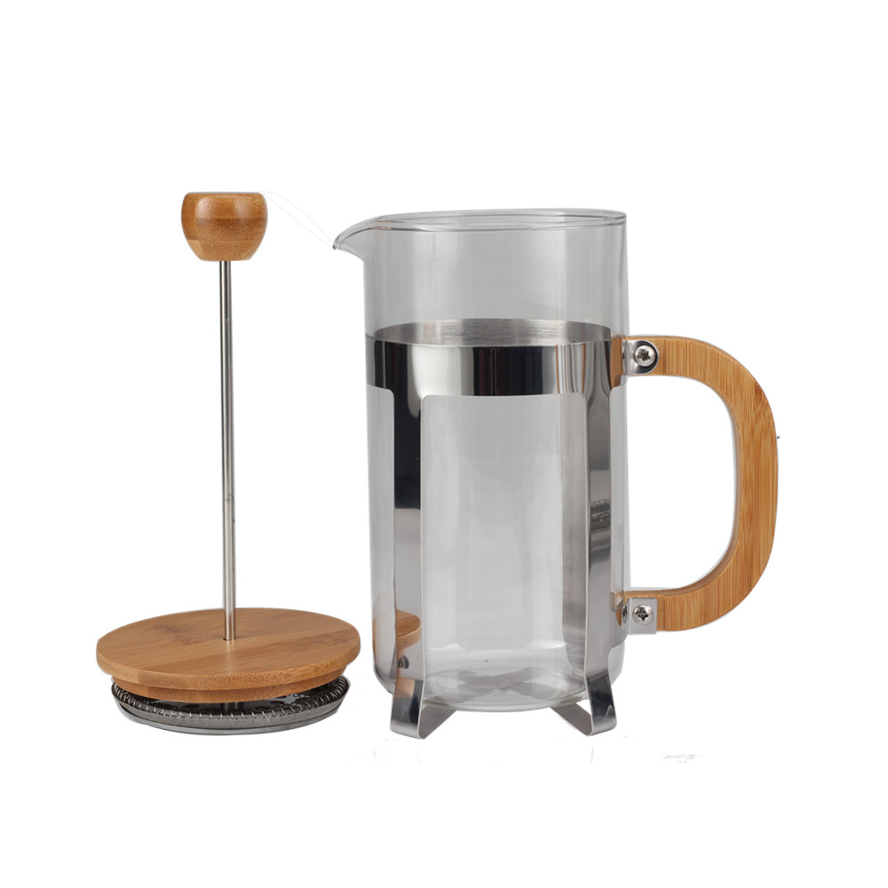 Borosilicate Glass Tea Maker French Press
