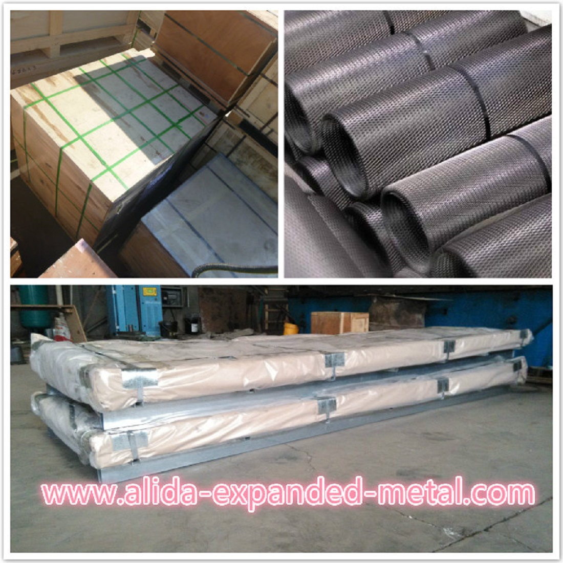 Packing of Expanded metal mesh