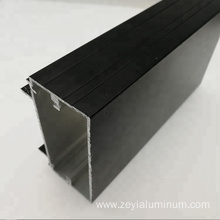 Aluminum alloy glass partition profile
