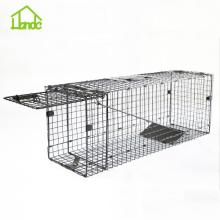 Renewable Design for for Medium Cage Trap,Animal Hunting Traps,Folding Animal Trap,Heavy Duty Live Animal Traps Manufacturer in China Catch And Release Live Animal Trap For Raccoons export to Mongolia Factories