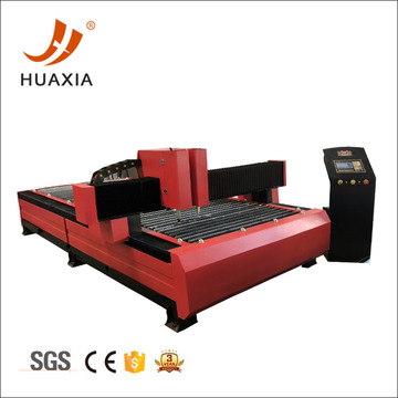 CNC oxygen cutting machine with plasma cutting