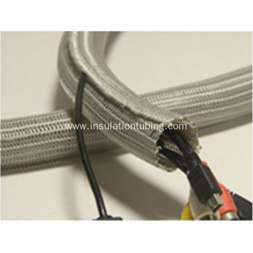Self Closing Braid Cable Protection Sleeve Electric Wrap
