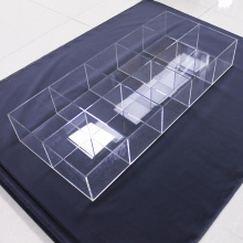 Big Acrylic Organizer For Cosmetic Shop