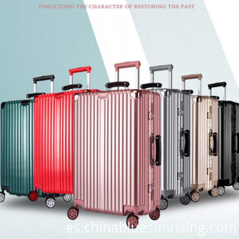 Travelling ABS+PC trolley luggage