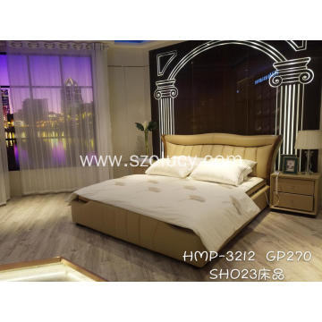 OEM China for China Genuine Leather Soft Bed,American Style Soft Bed,Soft Leather Beds Manufacturer and Supplier Elegant and fashionable soft bed export to Germany Exporter