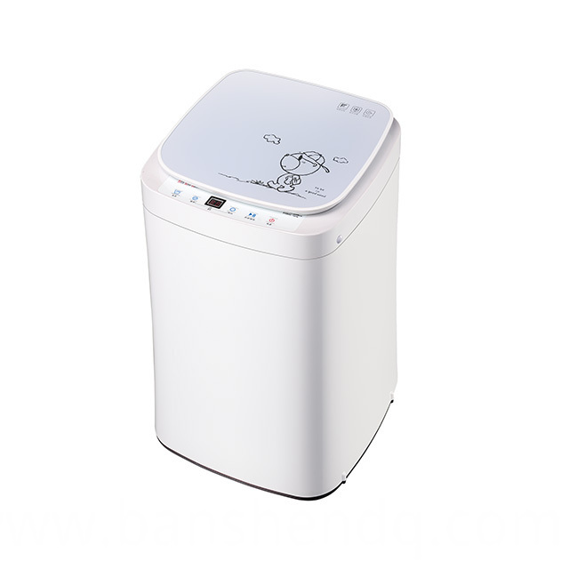 3kg white mini washing machine