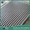 Square Hole Perforated Metal