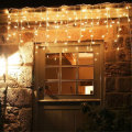 Warm White Patio Fairy LED Icicle Lights