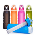 1L powerfull filter silicone water bottle
