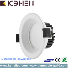 Bathroom 3.5 Inch LED Adjustable Downlights Circular