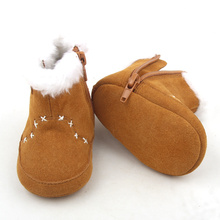 Warm Leather Baby Boots Kids Girls Fashion Boots