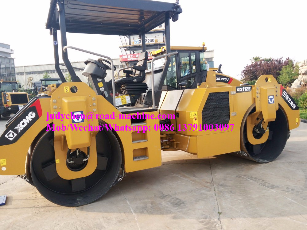 XCMG 13ton double drum vibratory roller