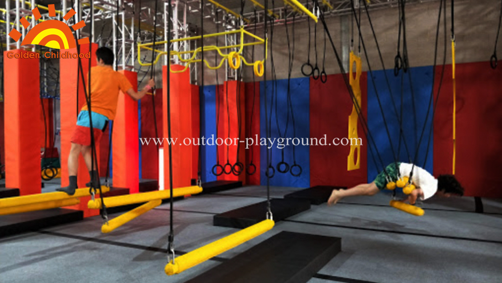 Ninja Warrior Gym indoor