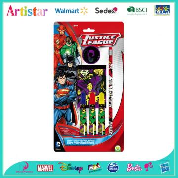 Justice League 6-piece blister card set