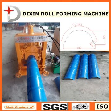 DX Cap ridge roll forming machine