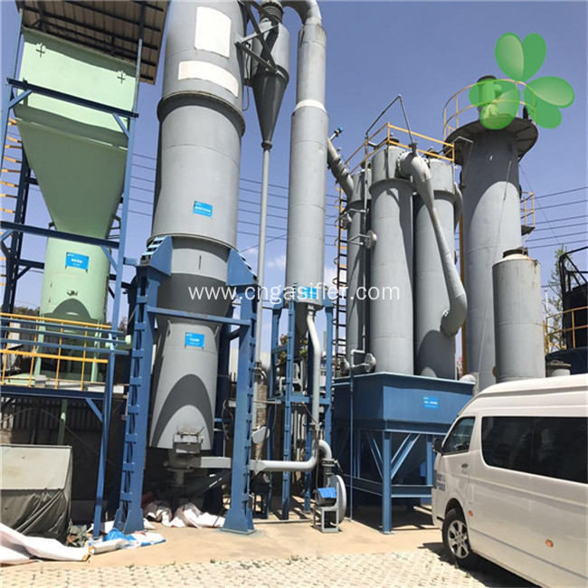 Pyrolysis and Qxidation of Biomass Gasifier