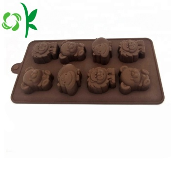 Silicone Chocolate Moulds Gummy Bear Candy Baking Tools