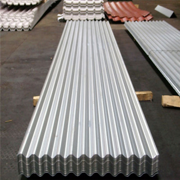 corrugated steel plate