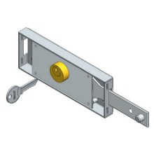 Best Quality for Roller Shutter European Door Lock Right Lever Shutter Lock export to Spain Exporter