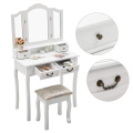 Home furniture mirrored dressing table