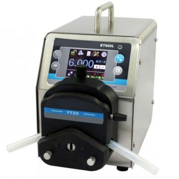 Large volume stainless steel dc motor peristaltic pump