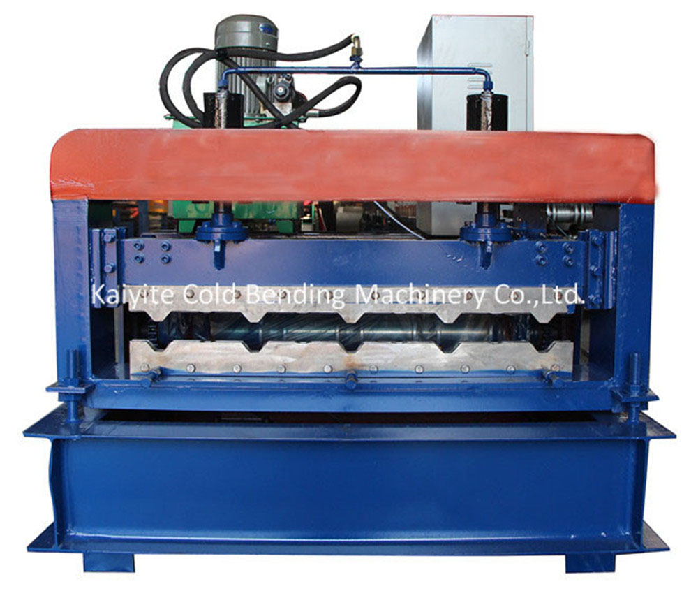 arch steel building atuo crimping curved roll forming machine