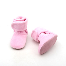 Winter Warm Pink Baby Shoes