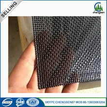 Black 304 stainless steel window screen woven mesh
