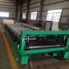 Factory wholesale price for Ibr Trapezoid Roof Sheet Forming Machine Full automatic roofing sheet roll forming machine supply to United States Supplier