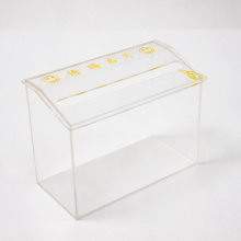 Acrylic Business Name Card Mail Boxes Collection Box