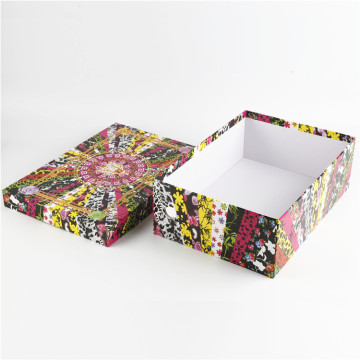 Wholesale Custom Printed Cardboard Shoe Gift Box
