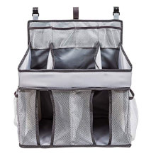 Customized Supplier for Baby Carriers Hanging Diaper Organizer Nursery Caddy Bag supply to Burkina Faso Factory