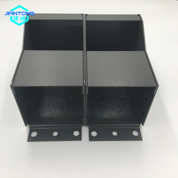 factory customized for Sheet Metal Box Fabrication grey powder coated sheet metal box fabrication supply to Slovakia (Slovak Republic) Suppliers
