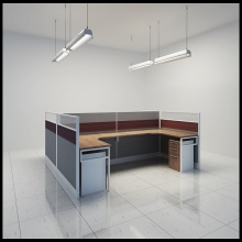 Hot Sale Modular Cubicle Aluminum Office Workstation