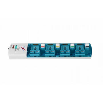 4 individual switch universal extension outlet