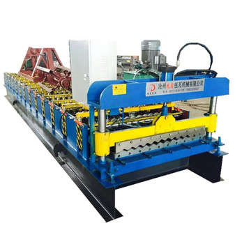 Automatic 2018 courrugated metal tile roll forming machine