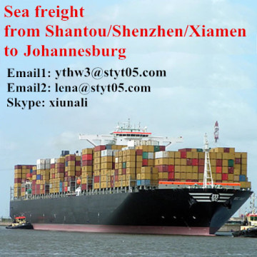 Shipping services from Shantou to Johannesburg