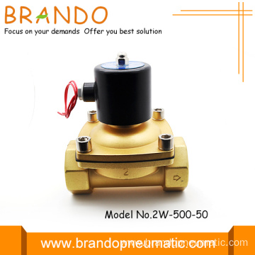 2w500-50 50mm Orifice 2 Inch Port Solenoid Valve