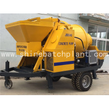 Mobile Concrete Pump With Mixer