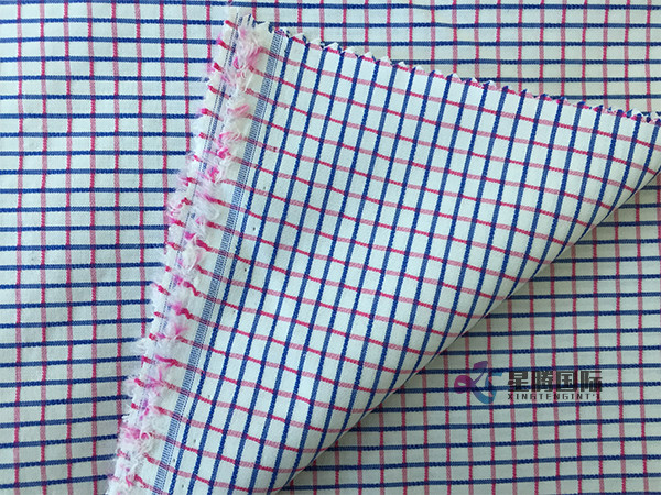 Cotton Yarn Dyed Plaids Material