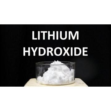 lithium hydroxide and carbonic acid