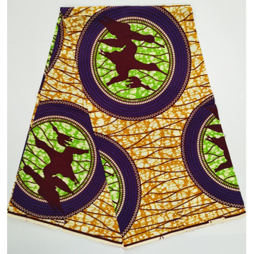 Bright colors african wax prints fabric