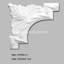 Factory directly provided for Carved Panel Mouldings Corners PU Chair Rails and Crown Panel Molding supply to Poland Importers