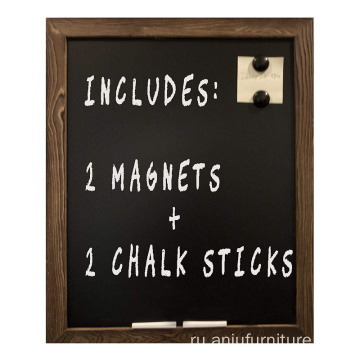 "Rustic Wall 18""x22"" Framed Decorative wood slate chalkboard"
