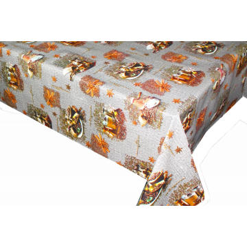 Elegant Tablecloth with Non woven backing Zara Home