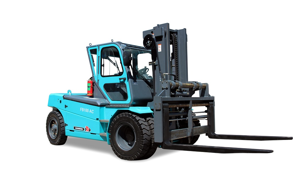 Biggest Electric Forklift Truck