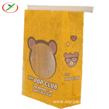 Popcorn  packing Brown Kraft Paper Bag