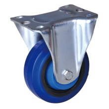 Customized for Plate Tpe Wheel Caster 6 inch rigid wheel industrial casters export to Monaco Suppliers