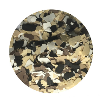 Vinilos decorativos Color Chips Polymer Flakes o Fleck
